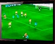 フットボール観戦テレビ